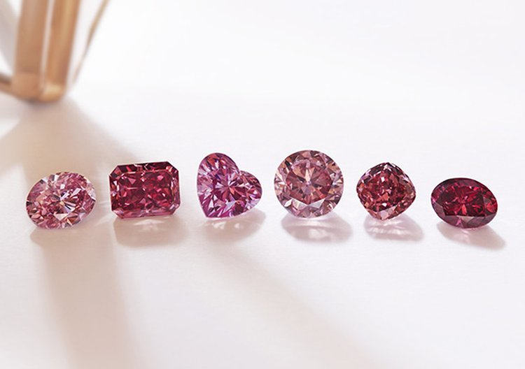 Rio Tinto Unveils Six 'Hero' Diamonds From Its 2019 Argyle Pink Diamonds Tender